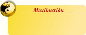 Moxibustión